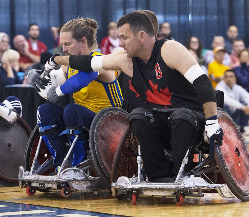 Canada Cup wheelchair rugby: Canucks finish fourth after losing to U.S.