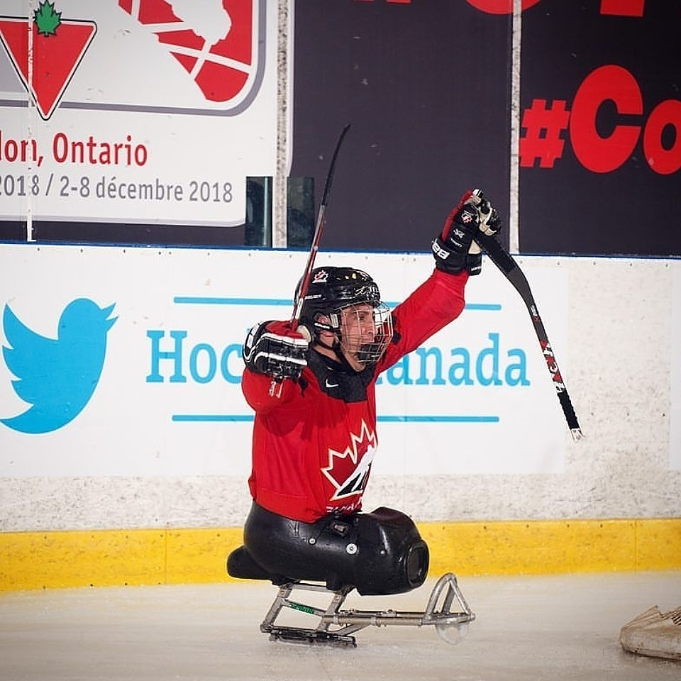 Meet Para Ice Hockey Athlete Micah Kovacevich