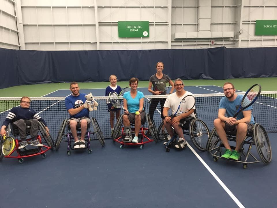 Meet Team AB Wheelchair Tennis Coach Mackenzie Quigley