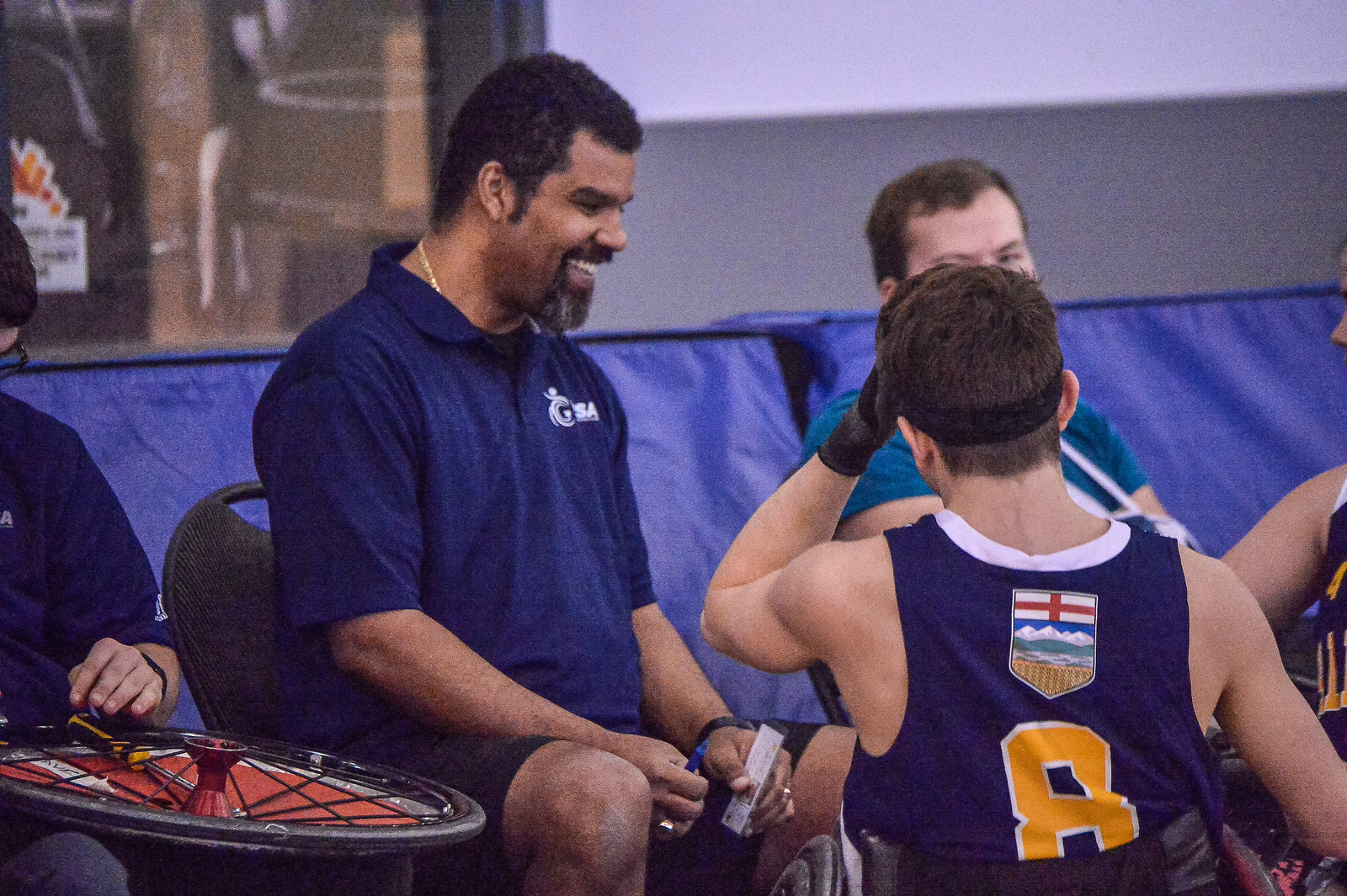 Meet Team AB Wheelchair Rugby Coach, Bruce Crosby Jr.